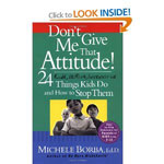 Book - Parenting, Don't give me Attitude